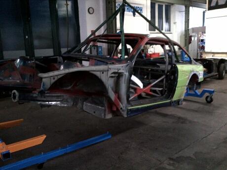 BMW in der Waschtrommel | Kessel Motorsport