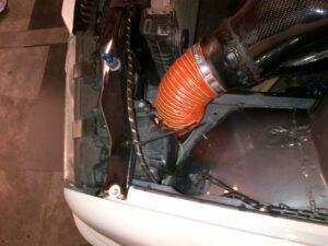 BMW M3 GTR Airbox