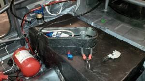 Benzinpumpe und Anschlüsse