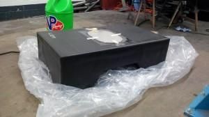 Fia FT3 Tank mit unbearbeiteter Deckelplatte